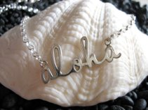 The Aloha Necklace - an Original Design