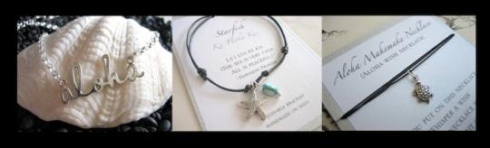 maui dive girl necklace jewelry bracelet