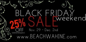 beach wahine sale online holiday