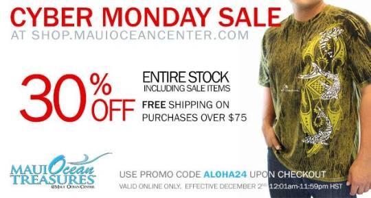 Maui Ocean Center Sale