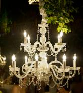 chandelier wedding elegance maui hawaii