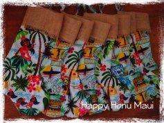 Hawaiian Stockings by Happy Honu Maui