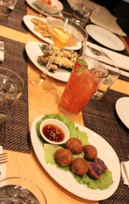 The tapas and imaginative cocktails create a fun and memorable dining experience.