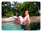 maui mermaid real tail costume swim