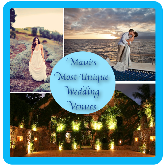 Unique maui made for Maui wedding locations