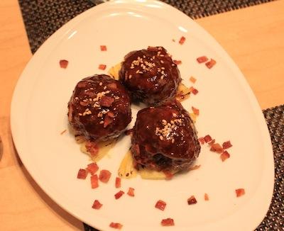 maui beef meatballs