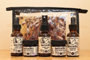 queen bee travel kit maui facial products sample
