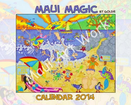 Maui Magic Calendar