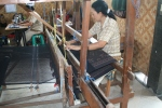 ikat weaving process indonesia fabric