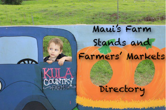 DIRECTORY maui farm stand market fruit vegetables