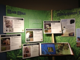 exhibits kealia pond invasive species