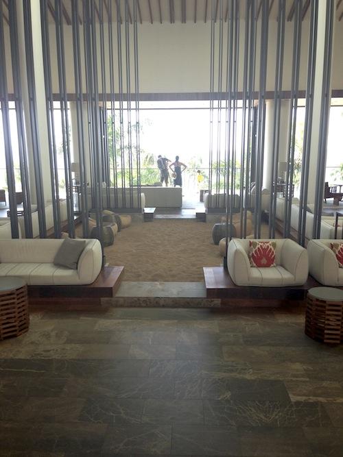 sand floor zen rock garden maui hotel