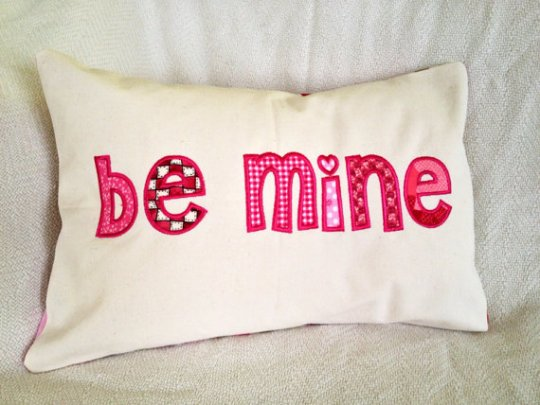 be mine pillow cover maui hawaii handmade