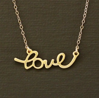Gold Love Script by Nina Kuna