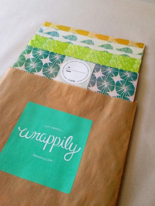 green gift wrap paper presents hawaii made maui
