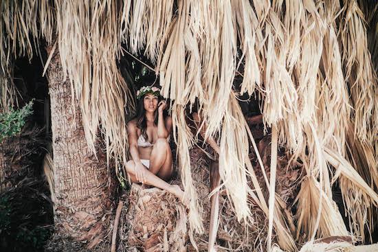 Maui Girl Bridal Bikini Wedding Inspired