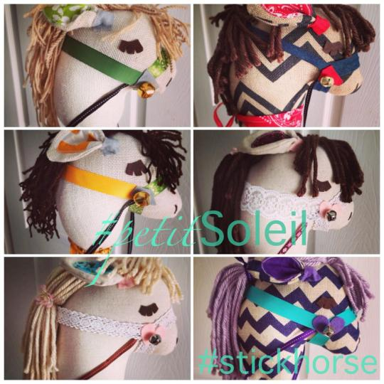 handmade stick horse gift hawaii