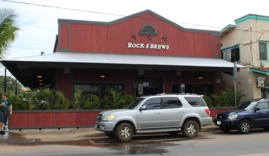 rock n brews paia maui opening date