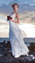 hawaii wedding dress 2014 trend