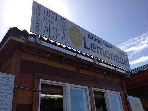 kahului maui hawaii lemonade stand