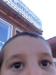 lemonade selfie kid photography