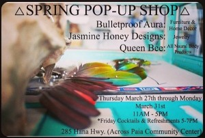 paia maui pop up shop