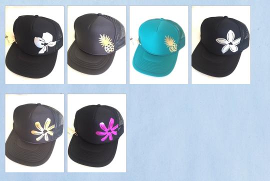 floral trucker hats hawaiian trucker hats feminine trucker hats
