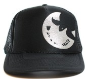 black turtle trucker hat