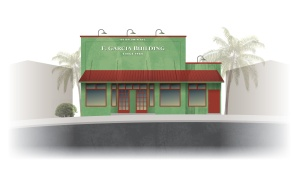 F Garcia Building Paia Maui Retail Space for Rent