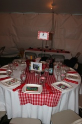 the upgraded tables at the jamboree
