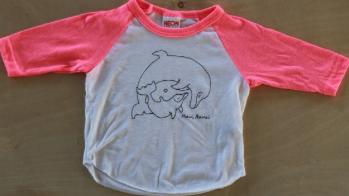 pink shirt dolphin children's child kid