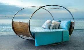 rocking bed maui hawaii beach furniture