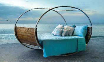 rocking bed maui hawaii beach furniture