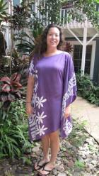 Purple White Flower Hawaii Maui