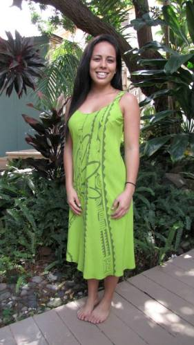 Tank Dress. Available in sizes Small - XL $75