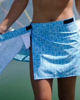 velcro skirt bathing suit