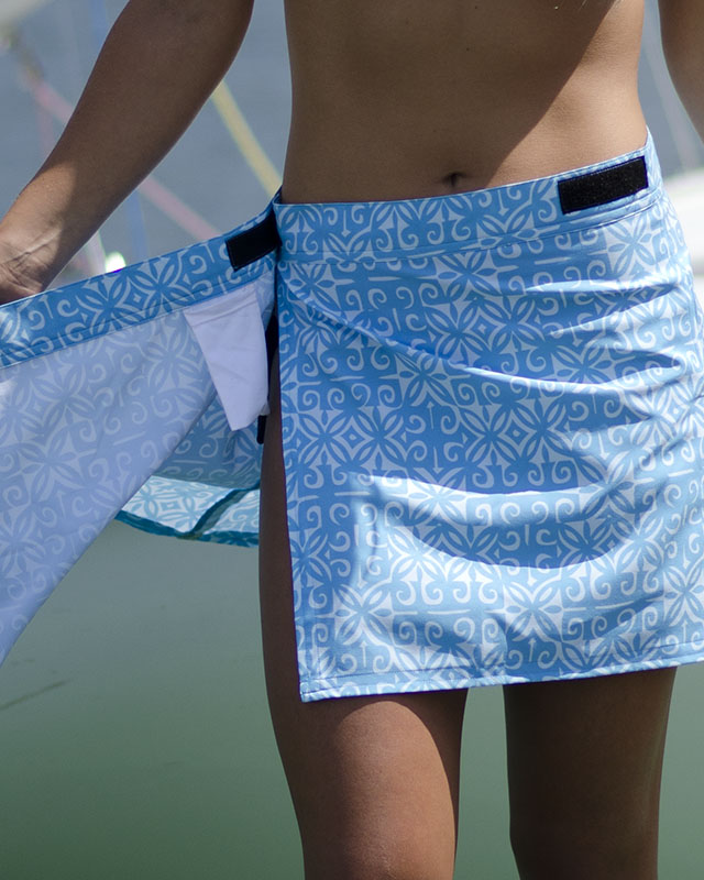 Velcro Skirt Waterproof Cover Up Maui Made