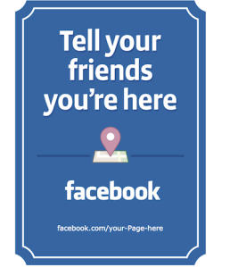 Facebook business signs tips