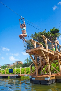 new maui zip line pool activity