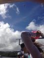 Drone overhead!
