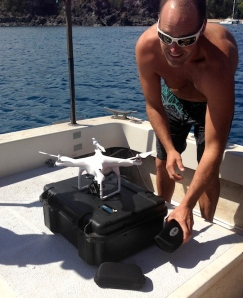 EPiC Aerial Pro - Justin preps the drone