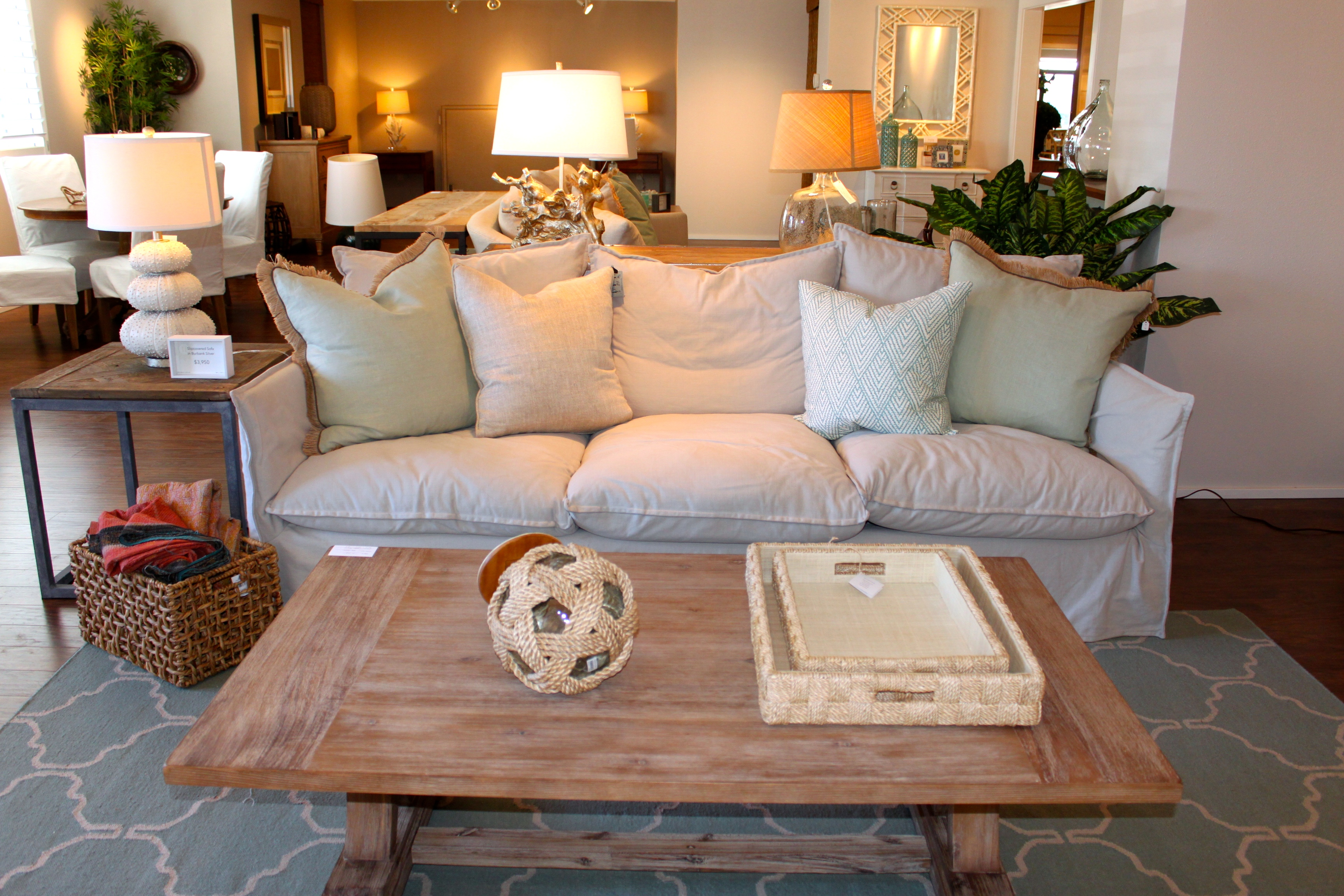 Coastal.modern.shabby.living.room.inspiration.furniture.hawaii | Maui Made