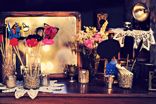 Photo Booth Wedding Styling Trends 2015