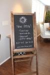 hue.chalkboard.sign.art