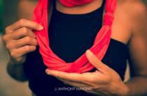 lei aloha scarf lei