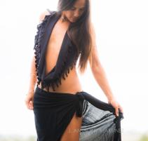 moolei.scarf.black.molokai.hawaii