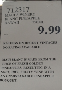 maui pineapple wine price costco buy