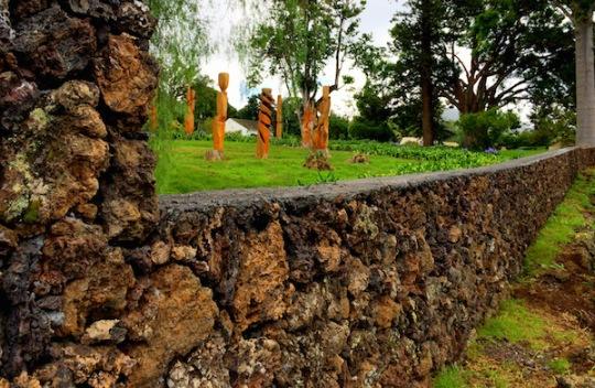 Tim Garcia Hula Circle Wood Winery Upcountry Sculpture Carvings