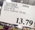 old.lahaina.rum.how.much.costco