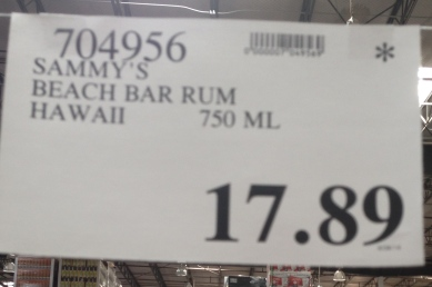 sammy beach bar rum maui costco